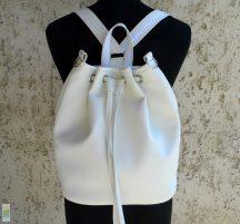 Női hátizsák / fehér