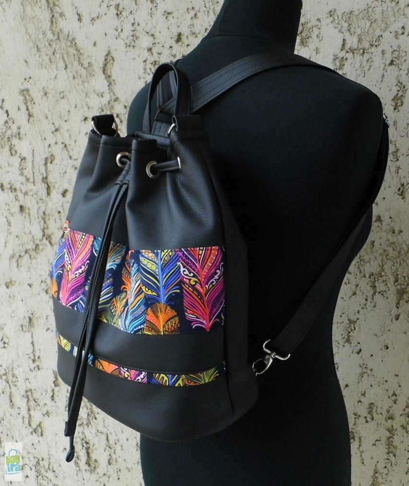 d2a60565a548 Indián nyár - női hátizsák - BagiraDesign, egyedi tervezésű textiltáskák