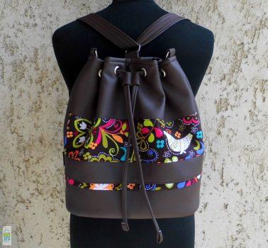 Női hátizsák / barna
