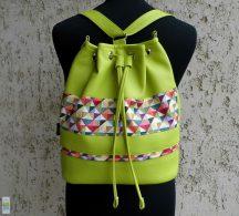 Női hátizsák / lime