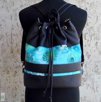 Pávatollas hátizsák