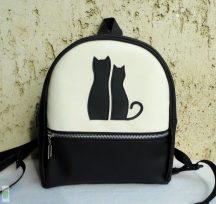 Cica románc- kis hátizsák