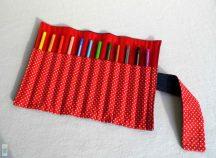 Pöttyös ceruzatekercs
