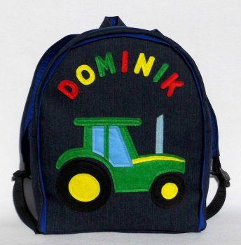Zöld traktoros hátizsák