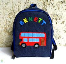 Emeletes buszos hátizsák