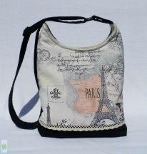 Párizs - íves táska