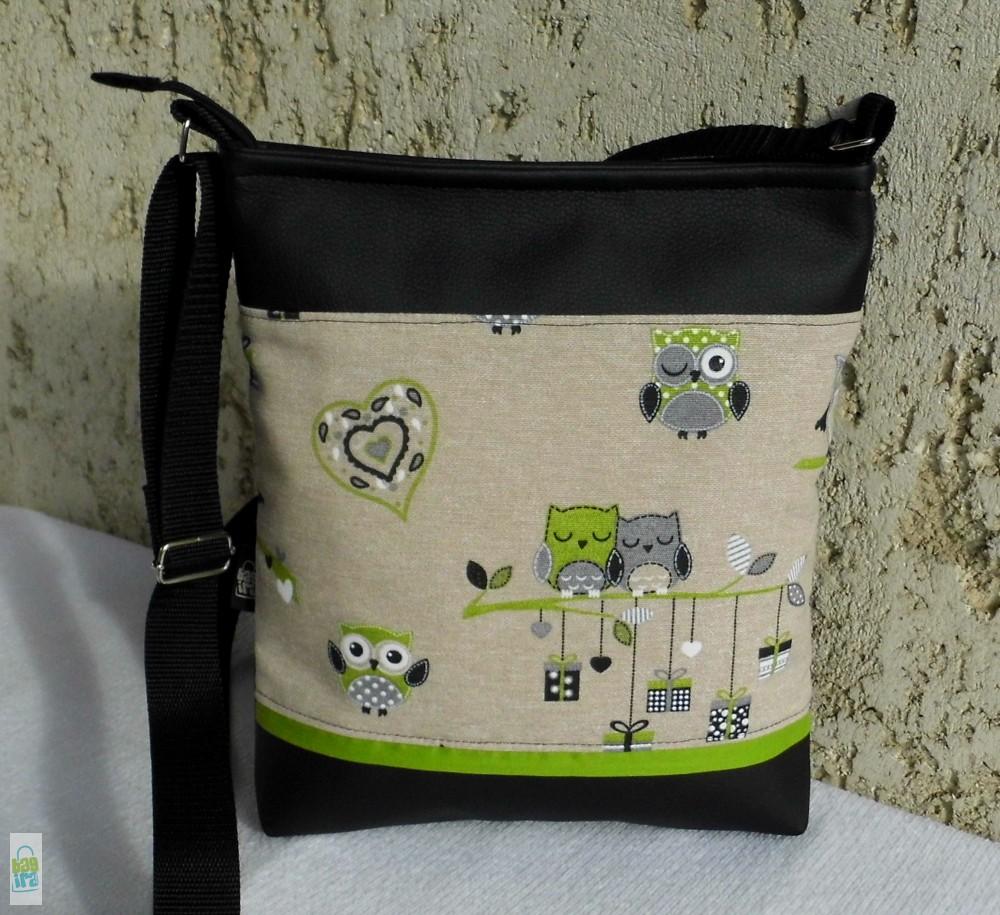 b0d950a748cf Szerelmes baglyok - női táska - BagiraDesign, egyedi tervezésű ...