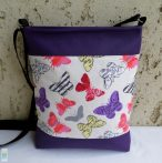 Lepkés női táska/ lila