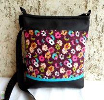 Apró virágos női táska