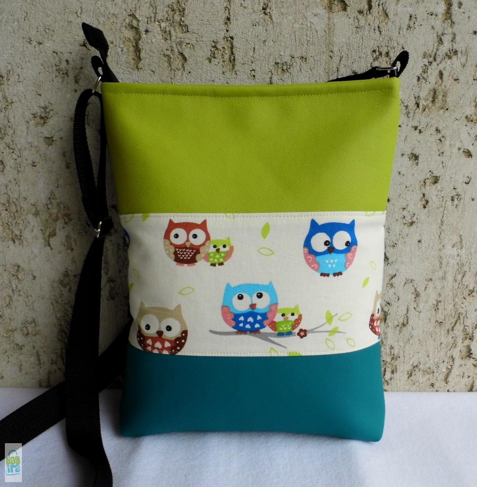 Baglyos női táska - BagiraDesign 86a95dda4b