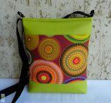 Mandalás női táska/ lime