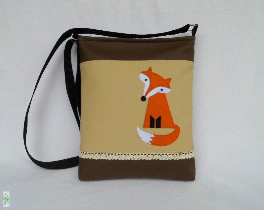 Rókás női táska - BagiraDesign 32e9539e87