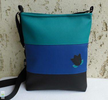 Színátmenetes női táska /kék