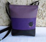 Színátmenetes női táska /lila
