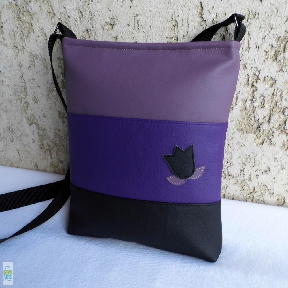 Színátmenetes női táska  lila - BagiraDesign 0dc81ecc15