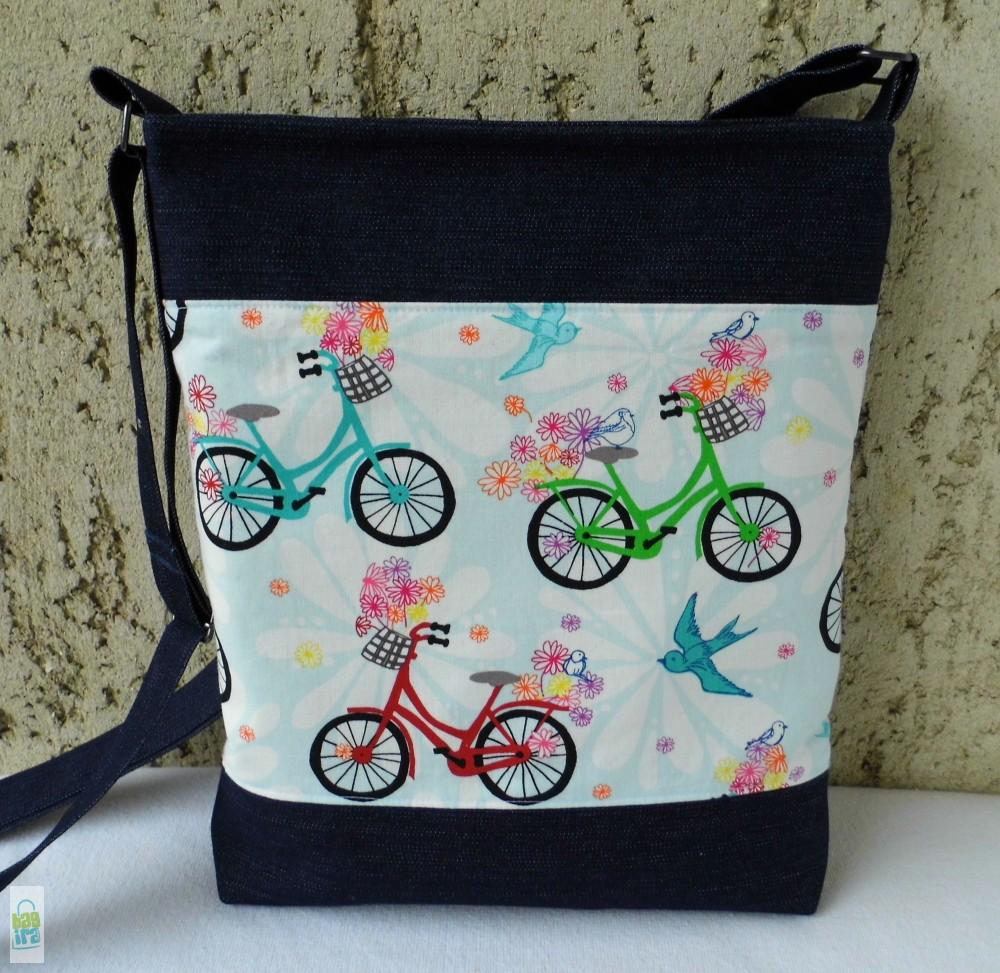 Biciklis női táska - BagiraDesign 2029553eb4