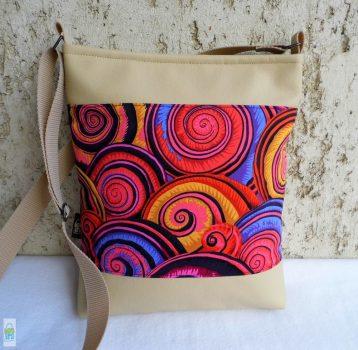 Csigás női táska / beige