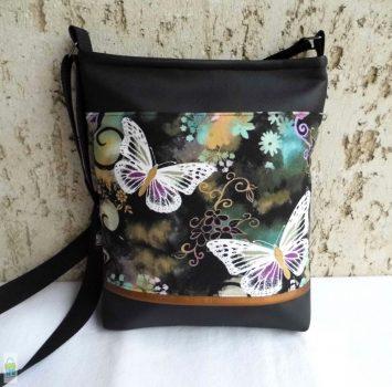 Lepkés női táska / fekete