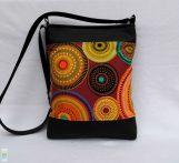 Mandalás női táska/ fekete