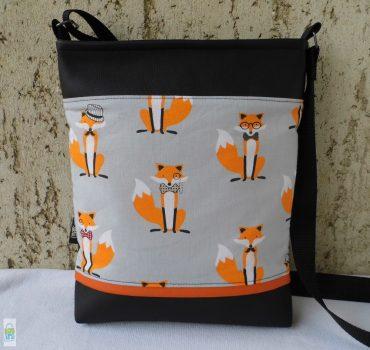 Rókás női táska
