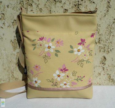 Romantikus női táska / beige