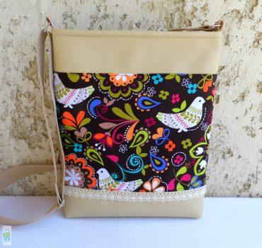 Népmesés női táska / beige