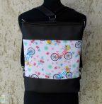 Biciklis hátitáska / fekete