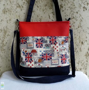 London - pakolós táska