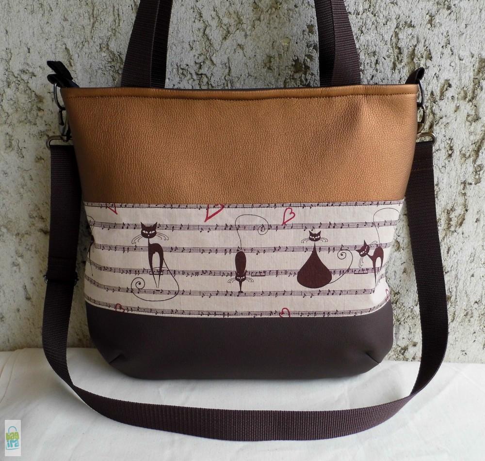 Macskaszerenád - női táska - BagiraDesign 1a80f9456b