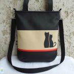 Cica románc - pakolós táska