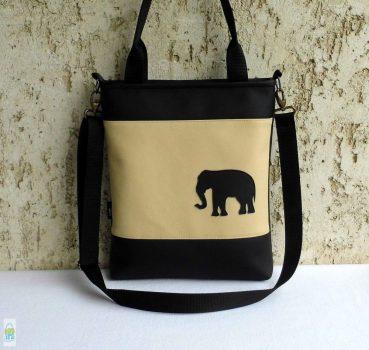Elefántos női táska