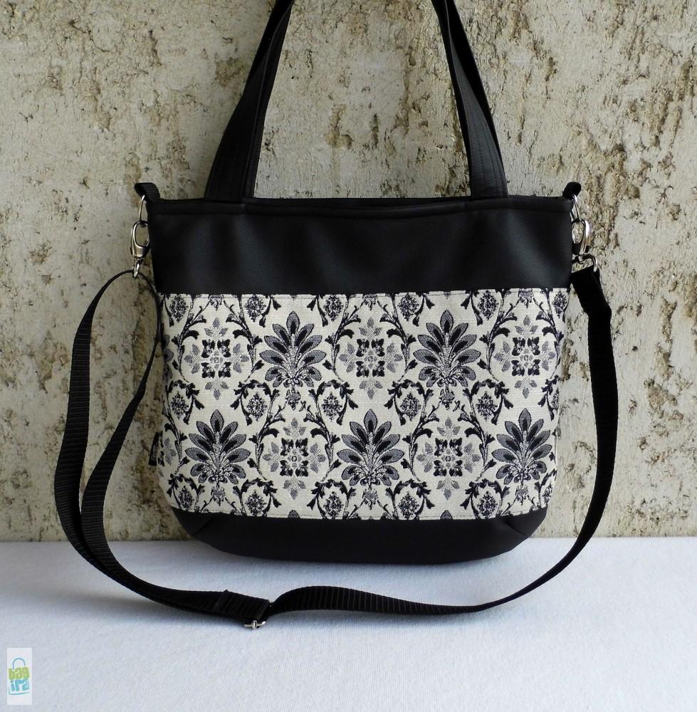Női táska BagiraDesign, egyedi tervezésű textiltáskák