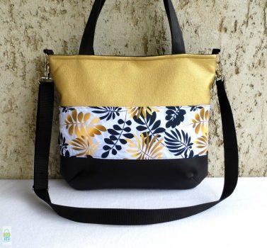 Női táska / arany-fekete